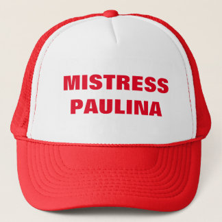 MISTRESS PAULINA TRUCKER HAT