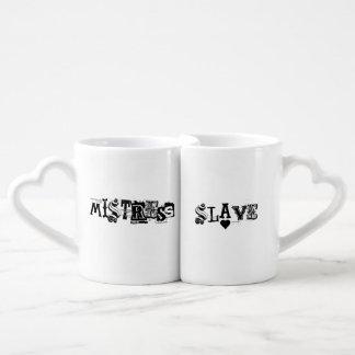 Mistress/slave Mug Set