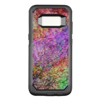 Mists of Watercolors Purple Green Pink Yellow Gray OtterBox Commuter Samsung Galaxy S8 Case