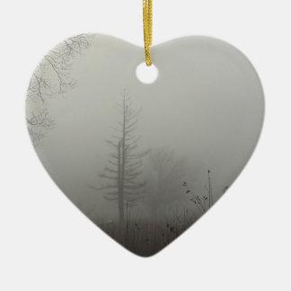 MIstscape Ceramic Ornament