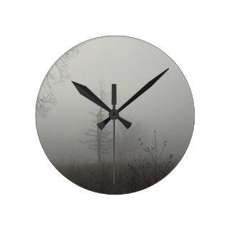 MIstscape Round Clock