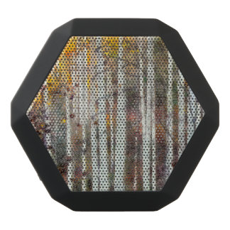 Misty Birch Forest Black Bluetooth Speaker