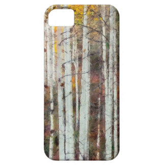 Misty Birch Forest Case For The iPhone 5