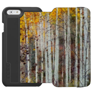 Misty Birch Forest Incipio Watson™ iPhone 6 Wallet Case