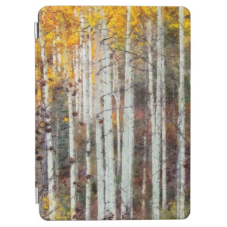 Misty Birch Forest iPad Air Cover