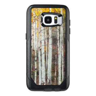 Misty Birch Forest OtterBox Samsung Galaxy S7 Edge Case