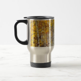 Misty Birch Forest Travel Mug