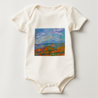 Misty Blue Ridge Autumn Baby Bodysuit