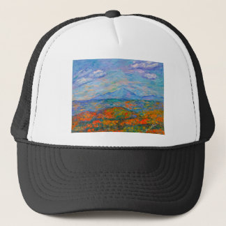 Misty Blue Ridge Autumn Trucker Hat