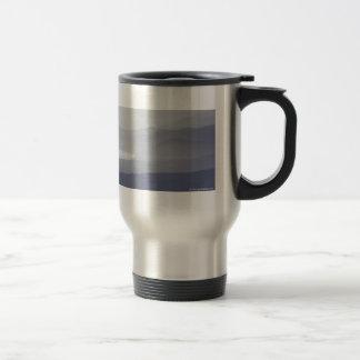 Misty coastline 15 oz stainless steel travel mug