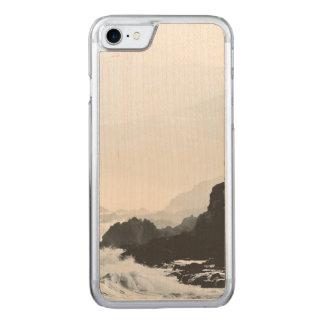 Misty Crashing waves Carved iPhone 8/7 Case
