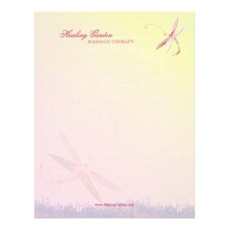 Misty Field Dragonfly  Business Letterhead