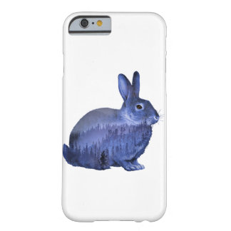 Misty forest bunny barely there iPhone 6 case