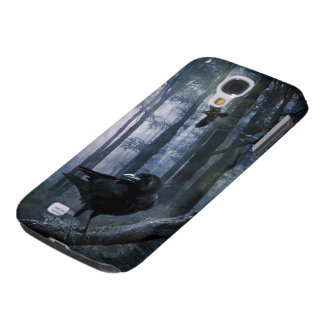 Misty Forest Crows Samsung Galaxy S4 Case