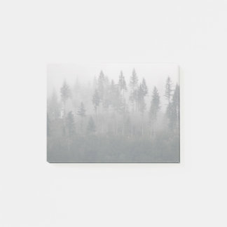 Misty Forest Photo Post-it Notes