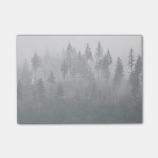 Misty Forest Photo Post-it® Notes