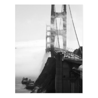 Misty Golden Gate Bridge II Postcard