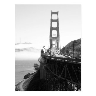 Misty Golden Gate Bridge V Postcard