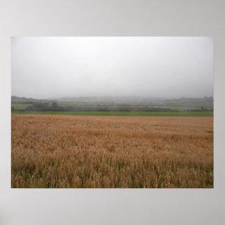 Misty Irish Meadow Print