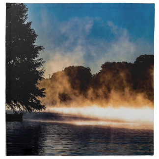 Misty Lake Napkin