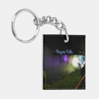 Misty Lights Niagara Falls Keychain