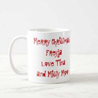 Misty moo coffee mug
