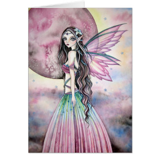 Misty Moon Fairy - Blank Card