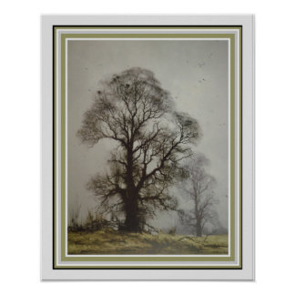 Misty Morn by David Shephard  16 x 20 Poster