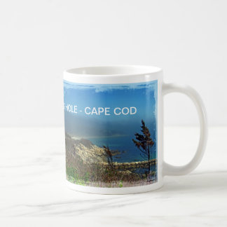Misty Morning at Nobska Point - Cape Cod MA Coffee Mug