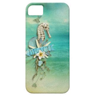 Misty Morning Beach seahorse tropical iPhone 5 Case