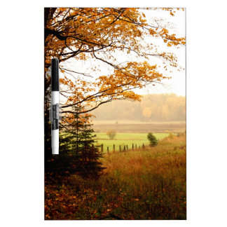 Misty Morning in the Country Dry Erase Board