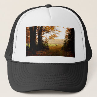 Misty Morning in the Country Trucker Hat