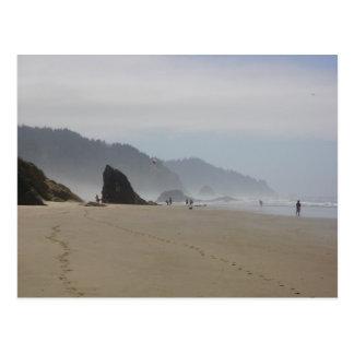 Misty Morning Postcard