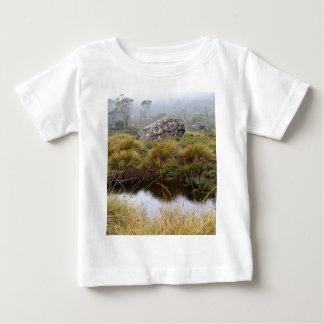 Misty morning reflections, Tasmania, Australia Baby T-Shirt