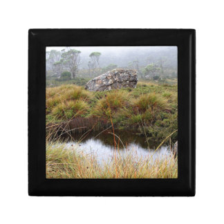 Misty morning reflections, Tasmania, Australia Gift Box