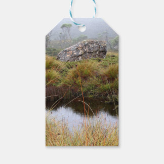 Misty morning reflections, Tasmania, Australia Gift Tags