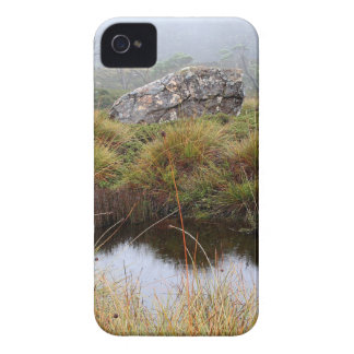 Misty morning reflections, Tasmania, Australia iPhone 4 Case