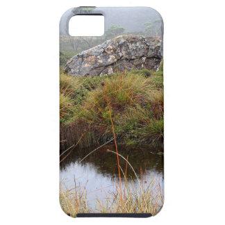 Misty morning reflections, Tasmania, Australia iPhone 5 Case