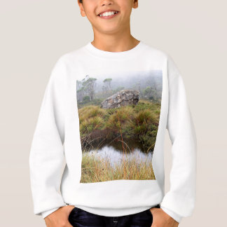 Misty morning reflections, Tasmania, Australia Sweatshirt