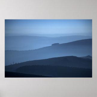 Misty Morning Shropshire Print