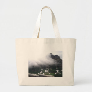 Misty Mountain Large Tote Bag