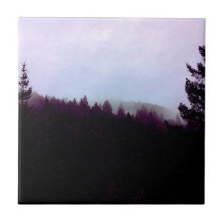 Misty Mountain (Purple) Tile