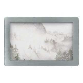 Misty Mountains Belt Buckles