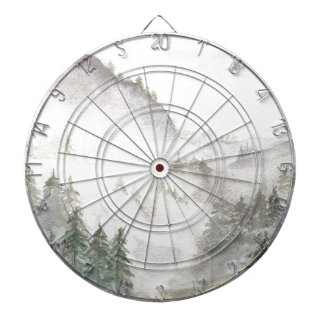 Misty Mountains Dartboard