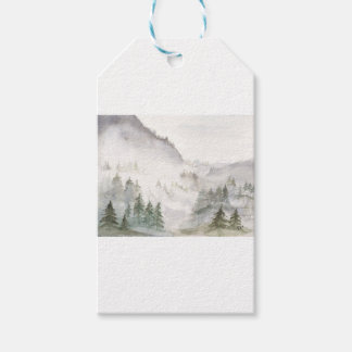 Misty Mountains Gift Tags