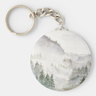 Misty Mountains Keychain