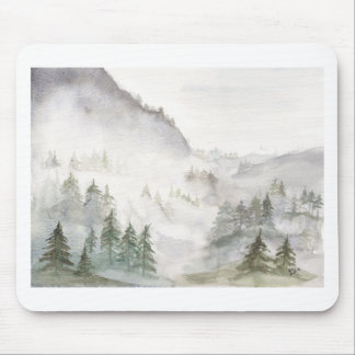 Misty Mountains Mouse Pad