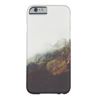 Misty Mountains, Relaxing Nature Landscape Scene Barely There iPhone 6 Case