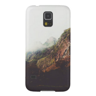 Misty Mountains, Relaxing Nature Landscape Scene Galaxy S5 Covers
