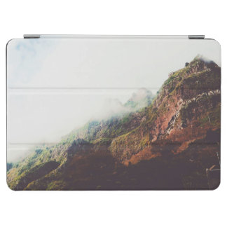 Misty Mountains, Relaxing Nature Landscape Scene iPad Air Cover